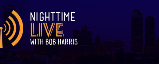 NightTime Live with Bob Harris interview – 04/16/16 – KFGO 790AM